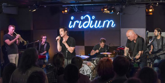 Train live at the Iridium NYC