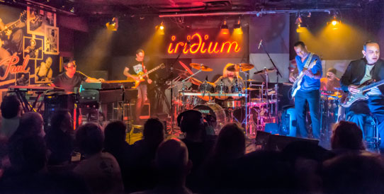 Rock Candy Funk Party live at The Iridium NYC